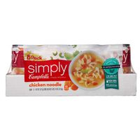 Simply Campbell's Chicken Noodle Soup, 8 X 19 oz