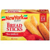 New York Style The Original with Real Garlic Bread Sticks
