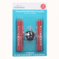 Way to Celebrate Dynamite Novelty Candles, 7 Count