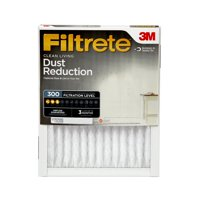 Filtrete 16x25x1, Clean Living Dust Reduction HVAC Furnace Air Filter, 300 MPR, 1 Filter