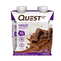 Quest Ready To Drink Protein Shake - Chocolate - 44 fl oz/4ct