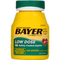 Bayer Asprin Pain Reliever Tablets Low Dose
