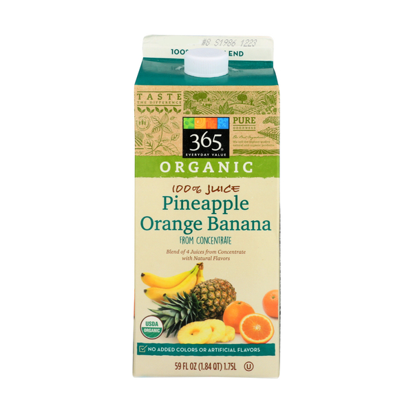 365 everyday value® Pineapple Orange Banana Juice, 59 FL OZ