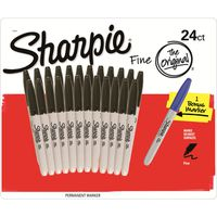 Sharpie Permanent Marker 24+1 Ct, Black