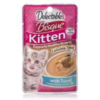 Delectables Lickable Treats - Bisque Tuna for Kittens, 1.4 oz.
