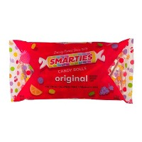 Smarties Assorted Flavors Candy Rolls - 18oz