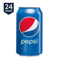 Pepsi Soda, 12 oz Cans, 24 Count