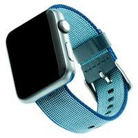 Woven Nylon Band For 38 & 40MM Apple Watch® - Blue