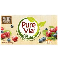 Purevia All Natural Sweetener From Stevia, 800 ct