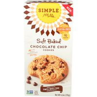 Simple Mills Chocolate Chip Soft Baked Almond Flour Cookies