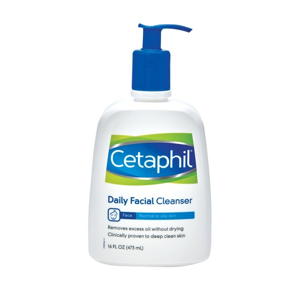 Cetaphil Normal to Oily Skin Daily Facial Cleanser - 16oz