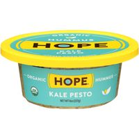 Hope Foods Hummus, Organic, Kale Pesto
