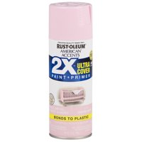 Candy Pink, Rust-Oleum American Accents 2X Ultra Cover, Gloss Spray Paint, 12 oz