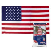Betsy Flags 29x50 in. Sleeved American Flag Printed polycotton