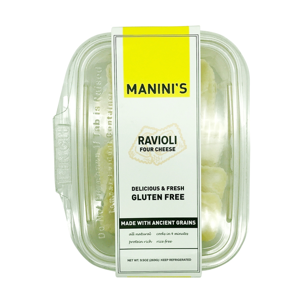 Manini's Four Cheese Ravioli, 9.5 oz