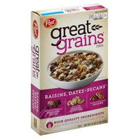Post Great Grains Raisins, Dates & Pecans Cereal