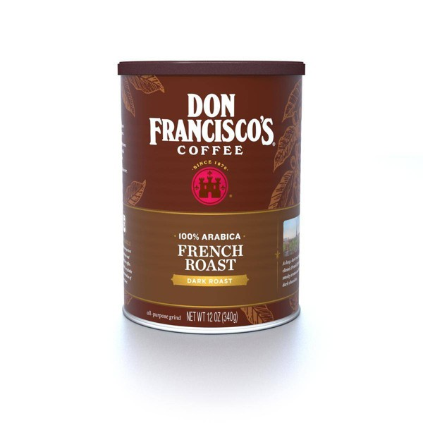 Don Francisco's French Bold Dark Roast Ground Coffee - 12oz