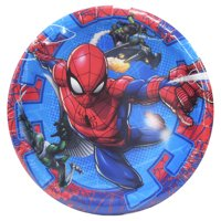 Spiderman Paper Dessert Plates, 7in, 8ct