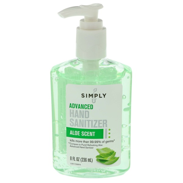 Simply U Hand Sanitizer Aloe Scent Advanced From H E B In Austin