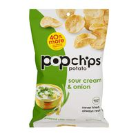popchips Popped Chip Snack Sour Cream & Onion