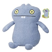 UglyDolls Hungrily Yours Babo Stuffed Plush Toy, 10.5 inches tall