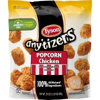 Tyson Any'tizers All Natural Popcorn Chicken - 24oz