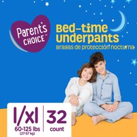 Parent's Choice Bed-Time Pull Up Underpants (Choose Size & Count)