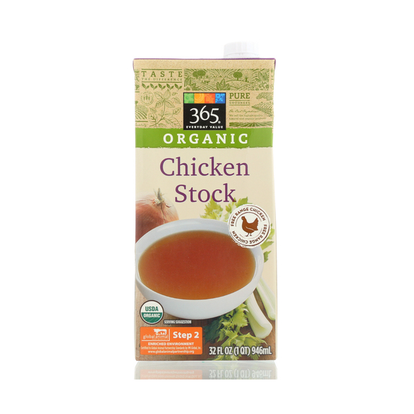 365 everyday value® Organic Chicken Stock, 32 Fl. Oz.