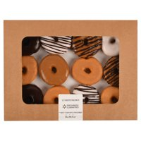 Freshness Guaranteed Assorted Ring Donuts, 12 Count