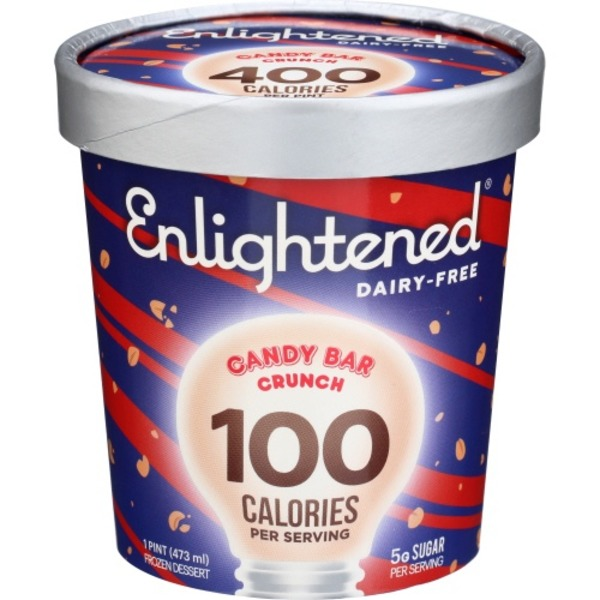 Enlightened Frozen Dessert Candy Bar Crunch