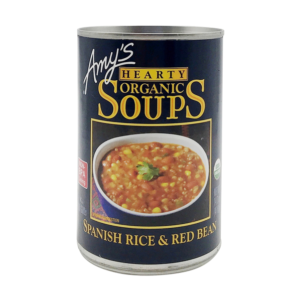 Amy's kitchen Spanish Rice & Red Bean Soup, 14.7 oz