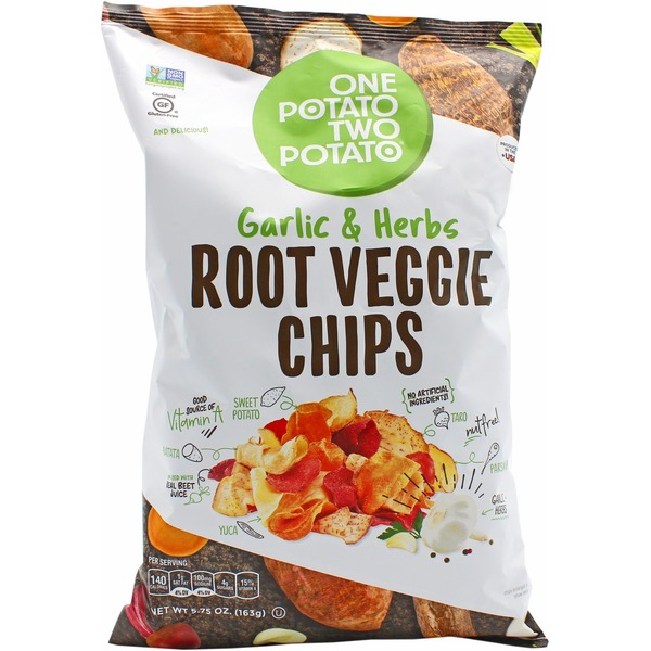 One Potato Chips, Root Veggie, Garlic & Herbs