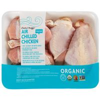 Central Market Organic Split Breast & Drumsticks Air Chilled Chicken