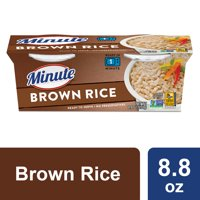 Minute Ready To Serve Brown, 4.4 oz Rice 2 Count Cups