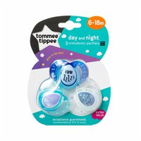 Tommee Tippee 6 to 18 Months Day & Night Orthodontic Pacifiers