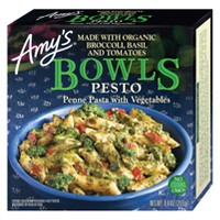 Amy's Penne Pasta with Frozen Vegetables Pesto Bowls - 9oz