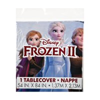 Frozen Plastic Party Tablecloth, 84 x 54in