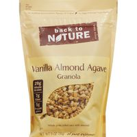 Back to Nature Gluten-Free Vanilla Almond Agave Granola