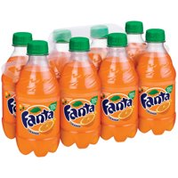 Fanta Caffeine-Free Orange Soda, 12 Fl. Oz., 8 Count
