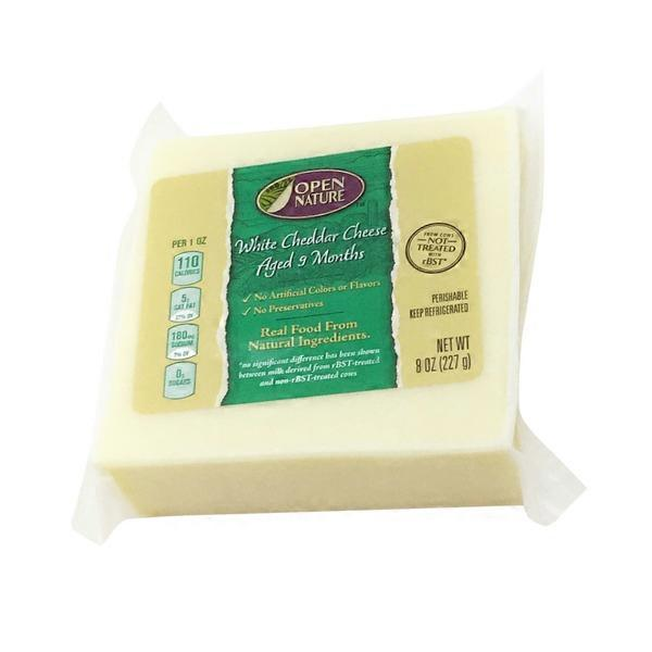 Open Nature White Cheddar Cheese