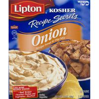 Lipton Kosher Recipe Secrets Soup & Dip Mix Onion