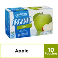 Capri Sun Organic Apple Juice Drink , 10 ct - Pouches, 60.0 fl oz Box