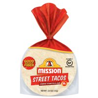 Mission Street Taco Corn Tortillas, 24 Count