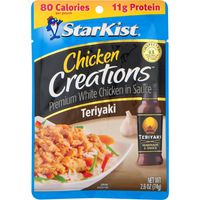 StarKist® Starkist White Chicken, Premium, Teriyaki, Chicken Creations, Pouch