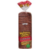 Nature's Own® 100% Whole Grain Bread 20 oz. Bag
