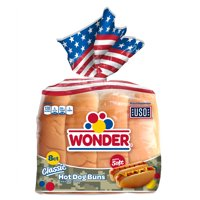 "Wonder Bread 6"" Hot Dog Buns, 8 ct"