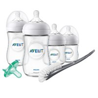 Philips Avent Natural Baby Bottle Newborn Starter Gift Set, SCD209/01