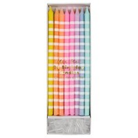 Meri Meri - Pastel Party Candles - Cake Candles - 24ct