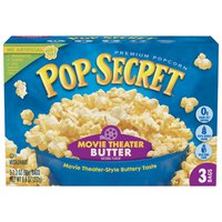 Pop Secret® Movie Theater Butter Microwave Popcorn
