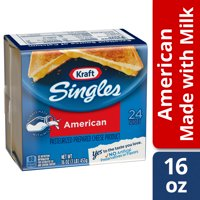 Kraft Singles American Slices, 24 ct - 16.0 oz Wrapper